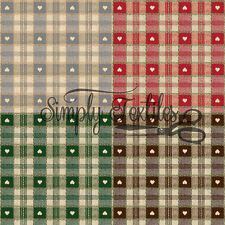 High Quality - Easy Wipe - Vinyl Tablecloth - PVC - Oilcloth - Sweetheart Check