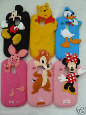 Disney Character silicone case cover to fit Samsung Galaxy S3 Mini i8190