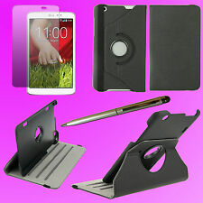 Jeans Case 360 Rotating Cover stand for LG G Pad 8.3 V500 + Film + Stylus  F136S