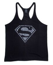 Superman Tank Top Bodybuilding Mens T-Shirt-Stringer Muscle Racerback Golds Gym