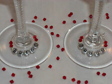 Wine Glass Charms Parties,Weddings Favours,Hen Party custom made Plastic