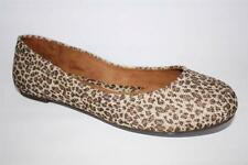 Women's Shoes b.o.c BORN XIA Slip On Ballet Flats Ballerinas Leopard Brown