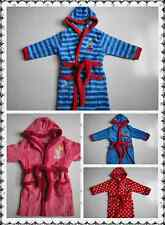 BNWT Thomas Disney Cars Peppa Pig Minni Fleecy Dressing Gown Pyjamas Size 2-6