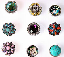 NOOSA STYLE CLIP ON CHARMS/CHUNKS/ BUY 3 AND GET ONE OF YOUR CHOICE FREE