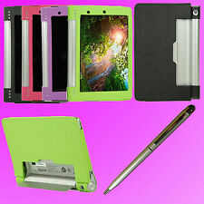"Protection Case Cover for 8"" Lenovo Yoga Tablet 8 B6000 + 2in1 Stylus Pen  F150U"