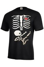 Skeleton Shirt T-Shirts Design Skeleton Kicking Baby T Shirt Printing Men's Size