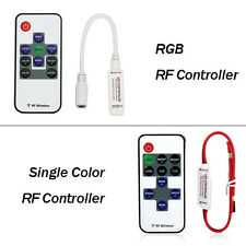 DC12-24V RF Wireless Remote Controller for LED Single Color Or RGB Strip Lights