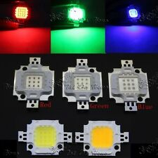 LOT 10W Cool/Warm White Red Green Blue 30Mil SMD 400-1000LM LEDs Chip Light Bead