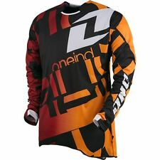 CLEARANCE One Industries Defcon TXT 1 Jersey Black MX ATV Off Road cheap one