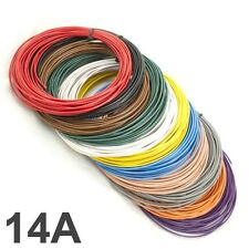 10M coil *14 AMP Rated* 0.75mm2 Thin Wall Single Core Cable Car Wire LED Lights