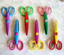 Edger Deco Lace Scissors for Kids DIY Paper Card Scrapbooking Photo Picture Tool