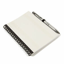 Blank Note Book/Note Pad & Pen Wire Bound Insert Photo on Cover  102x152mm NBP1