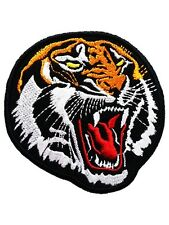 TIGER Embroidery Motorcycle Biker Iron on Patches Fashionable Vest Shirts Badge