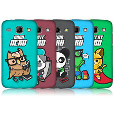 HEAD CASE DESIGNS NERDY TOON ANIMALS CASE FOR SAMSUNG GALAXY CORE I8260 I8262