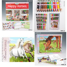 Top Model Horses Dreams Colouring Books, Sticker Books, Pencils, Pens