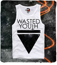 E1SYNDICATE TANK TOP T SHIRT WASTED YOUTH SWAG DOPE PARIS INDIE ELEVEN S/M/L/XL
