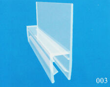Bath Shower (Curved Flat) Screen Door Seal For 6-16 mm Glass Fits 3-25mm Gap