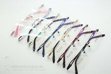 1X Men's Women's Metal Rimless Optical Eyeglasses Eyewear Glasse Frames RX Able