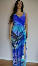 Gottex Calypso tummy toner swimsuit cover-up sarong scarf LOT 12 M L $386