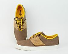 PUMA El Ace L Handcraft Dachshund/ Spectra Yellow Cork Sneakers 357096-02 SALE