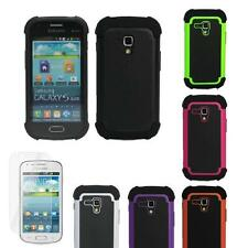 Samsung Galaxy Ace 2 II-X GT-S7560M Strong Impact Hybrid Shock Proof Case Cover