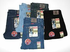 New WRANGLER Regular Fit Jeans Men's Size W32 L34 Choose from Five Colors