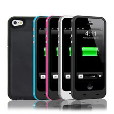 2300mAh External Backup Battery Case Cover Power Bank Charger for iPhone 5 5S