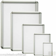 SNAP CLIP FRAMES OPENING POSTER HOLDERS RETAIL NOTICE DISPLAY BOARD SIZES A0-A4
