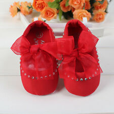 Baby Girls Dimonte Red Ballet Shoes Pre Walkers