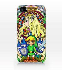 ►►Coque IPHONE 4-5-5C-6 + // Legend of ZELDA // Link & la princesse COLLECTOR !