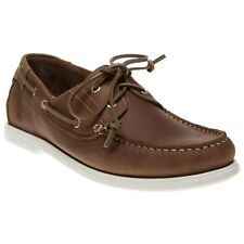 New Mens Wrangler Brown Ocean Nubuck Shoes Boat Lace Up
