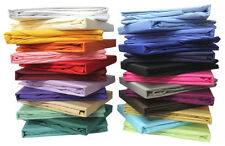 400-600-800 THREAD COUNT SHEET SET 100% COTTON ( ALL SOLID COLOR & SIZE ) @ SALE