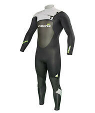 C-Skins LEgend 3/2 mm Mens Front Zip Steamer Full Summer Wetsuit. Silver