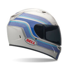 Bell Powersports Vortex Band White Full Face Motorcycle Helmet