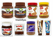 CADBURYS GALAXY MILKY WAY LOTUS  NUTELLA  SPREADS AND OTHER  TOPPINGS