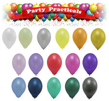 "Helium quality pearlised metallic balloons Latex 12"" inch Wedding Birthday party"