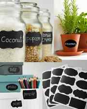 Chalkboard VINYL LABELS 12pc (Medium)