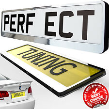 TRAILER CAR Number Plate  Holder SURROUND Frame SPORT styling tuning SALE
