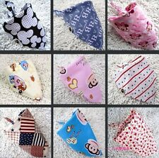 5pcs Baby Boy Girl Kid Bandana Bibs Triangle Head Scarf Saliva Towel Dribble