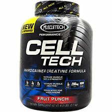 MuscleTech Cell-Tech Performance Series Creatine 6lbs - CellTech 6 lb All Flavor