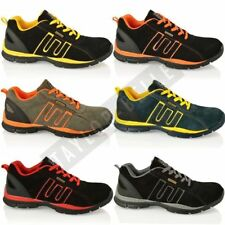 MENS GROUNDWORK SAFETY STEEL TOE LIGHTWEIGHT LACE UP TRAINERS UK SIZES 6-12