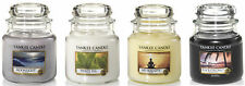 YANKEE CANDLE MEDIUM 14.5oz FRESH JAR COLLECTION - 65-90 HOURS BURN TIME.