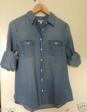 J CREW KEEPER CHAMBRAY SHIRT SIZE 2 4 6 8 10 12 Afternoon Skye Style 44875 NEW