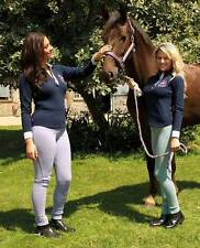 Rhinegold Ladies Check Horse Riding Jodhpurs - Equestrian Clothing