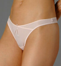 Chantelle Light 2979 Pink Tanga Thong - Made in France - Various Sizes