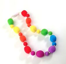 Silicone Chewable Jewelry for Oral Sensory Needs - Autism Necklace - child size