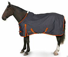 mid - lightweight turnout rug - 100gm fill horse & pony sizes in stock navy
