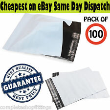 """NEW STRONG GREY WHITE 12""""X16"""" MAILING BAGS POSTAL PACKAGING ENVELOPE HEAVY DUTY"""