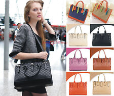 Hot New Style Womens satchel Fashion New PU Leather Handbag Tote Shoulder Bag