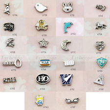 New 2014 Mini Floating Charms for Glass Living Memory Lockets 1pc  Free Shipping